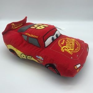 Disney Cars Lightning McQueen Red Pillow Buddy